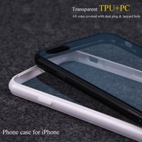 Wholesale Iphone Designed Cases Cheap - High quality and nice design TPU plus PC material phone case for iphone case witrh cheap price and free shipping