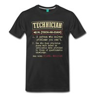 Wholesale Black Dictionary - 2017 Fashion Hot Sell Technician Funny Dictionary Entry Men'S Premium T-Shirt 100% Cotton O-Neck T Shirt Casual Short Tops Tee