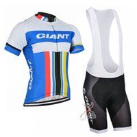 Wholesale Mtb Giant Bicycles - Giant 2017 Summer Cycling Clothing Breathable Mtb Bike Maillot Ciclismo Short Sleeve Cycling Jersey Mens quick dry Bicycle Clothes B2410