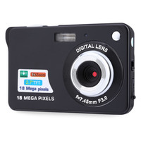 Wholesale fixed focus digital cameras - Digital camera 2.7 inch TFT LCD 18.0 mega pixels 8X digital zoom Anti-shake Video Camcorder photo camera
