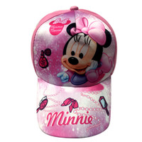 Wholesale Childrens Summer Hats - 2017Hot 10 Design Minnie Mickey Caps Donald Duck Child Baseball Cap Childrens Hats