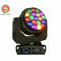 DMX512 Bee Eyes LED Moving Iluminação do palco principal 19 X15W 280W RGBW 4 IN 1 lâmpada DJ Super effect LED stage lighting christmas