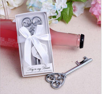 Wholesale Wholesale Wedding Supplies Usa - DHL Free Shipping+Wholesale Holiday Supplies Key to my Heart Bottle Opener Wedding favors and gifts,200pcs lot usa