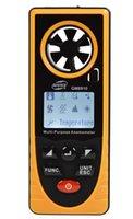 Wholesale Measure Humidity - GM8910 Multifunctional Digital Anemometer For Temperature Humidity Measure Atmospheric Illumination Intensity Altimeter Physical Measuring