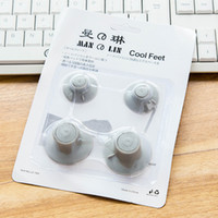 CAA-Notebook Laptop Heat Reduction Pad Cooling Cool Feet 4 шт.