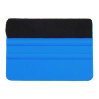 vinil móvel venda por atacado-Ferramentas de embrulhar em película de vinil carro 3 m rodo com feltro papel de parede macio raspador protetor de tela móvel instalar ferramenta rodo