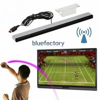 Wholesale Signal Wire - Replacement Infrared TV Ray IR Signal Remote Sensor Bar Reciever Wired for Nintendo for Wii Remote