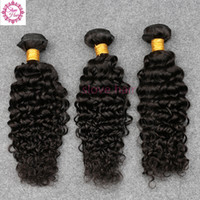 Wholesale Soft Cambodian Hair - Unprocessed 8A Brazilian Curly Virgin Hair Peruvian Malaysian Indian Cambodian Mongolian Deep Curly Wave Human Hair Weaves Bundles Soft Full