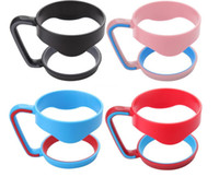 Wholesale Insulated Cup Holders - New Plastic Handles for 30oz Cups Secure Holder For 30oz Stainless Steel Insulated Tumbler Mugs DHL free