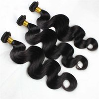 Wholesale Top Quality Remy Hair Styles - Top Grade Quality Regular Style Body wave hair bundle 100% Human hair Natural Color 80g pc&4pcs Lot Drop Shipping