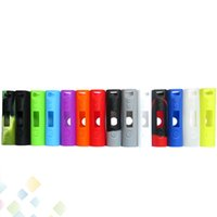 Wholesale gel skin cases - Silicone Case Subox Mini Silicon Bag Colorful Rubber Sleeve Protective Cover silica gel Skin For kanger subox mini 50w Box Mod DHL Free