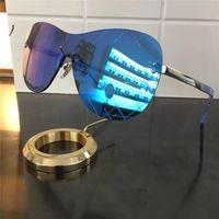 Wholesale Coats Design For Men - luxury logo CH5529-A sunglasses for women brand designer rimless coating mirror lens google design fashion for men & women butterfly style