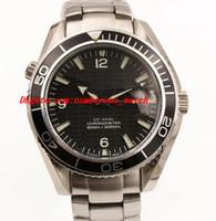 james bond glass toptan satış-YENI mens James Bond 007 SERAMIK ŞEFFAF ŞEFFAF CAM Sınırlı Sayıda Otomatik Hareketi erkek izle erkekler saatler kol saati
