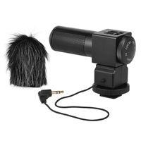 Wholesale Stereo Microphone For Camcorder - DHL TAKSTAR Shotgun Recorder SGC-698 Photography Interview Recording Stereo MIC Microphone for Camera Camcorder DV Shotgun Recorder