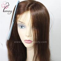 bonés de renda completos para perucas venda por atacado-Cabelo virgem rendas pele natural completa mulheres peruca peruca