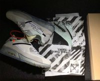 Wholesale Zip Box - With Original Box Zip Tie 1990 Off White x Air 90 Ice 10X Virgil Abloh Sports Shoes for Men Ten Casual Sneakers US7-11