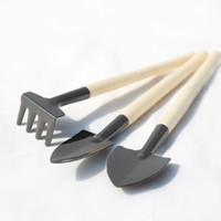 Wholesale Three suit flowers gardening tools for growing flowers or vegetables fleshy tools small shovel small rake potted balcony activities