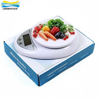 Wholesale Digital Kg - LCD Display Electronic Digital Kitchen Scales 5 kg 5000g 1g Food Scale Goods Diet Postal Balance Weight Weighing Scale With Retail Box