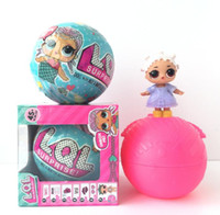 Wholesale Educational Egg - LOL Surprise Doll Magic Funny Removable Egg Ball Doll Toy Educational Novelty Kids Unpacking LOL Surprise Dolls KKA2832