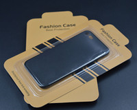 Wholesale Mobile Phone Crystal Cases - Case Universal Retail Package Paper Plastic Crystal Packaging Packing Box For 4 to 6 inch Mobile Phone Case iPhone 7 Samsung
