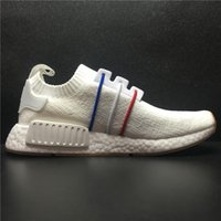 Wholesale French Mens Fashion - NEW 2017 Famous Designer French NMD R1 PK BZ0298 Basf Real Boost for Mens Women A Pedal XR1 Fashion Casual Running Shoes Size 36-45 With Box
