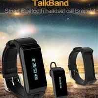 Wholesale Talk Band - Talk Band K2 Smart Bracelet Bluetooth Smart Wristbands smart watch Waterproof & Passometer & Sleep Tracker Function for android ios TW64