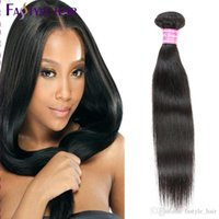 Peruviano Straight Hair Extensions Unprocessed brasileiro malaio Indian virgem cabelo humano Bundles Natural Preto Dyeable