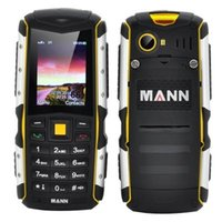 "Wholesale S Mp3 - Original MANN ZUG S 2.0"" IP67 Waterproof mobile phone dustproof shockproof Outdoor phone Rugged Dual SIM 3G CDMA MP3 cell phone"