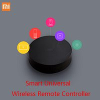Barato Leitor De Dvd Inteligente-Xiaomi Mi Universal Smart Remote Controller Eletrodomésticos WIFI + IR Switch 360 Degree Smart para condicionador de ar TV DVD Player