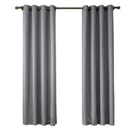 Wholesale Brown Sheer Curtains - 135*220Cm Bedroom Curtains Blakout Window Curtain Shading Drapes Sheer Curtain Brown Grey Beige Colors Multiple Sizes Wholesale