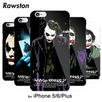 Wholesale Cool Design Iphone 5s Cases - Cool! Batman Dark Knight Joker Karta Cover Case for iPhone 5s 5 SE 6 6s fundas hood caso capa para 5 Designs