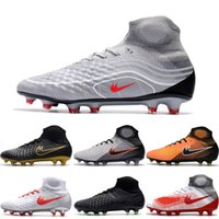 Drop Shipping Wholesale Football Shoes Men Magista Obra II FG ACC Botas de futebol Hot Sale New High Quality Sport Shoes Size 6.5-11