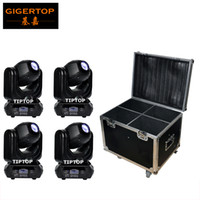 Wholesale Power Compact Lights - Flightcase 4IN1+ 4XLot 40W LED Spot Moving Head Stage Lights Cheap Price DMX 10 12 Channel 100W Power Consumption Compacted Size