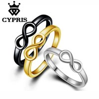 Wholesale Romance Rings - 3 colors Love romance Infinity hot fashion silver Ring Bow Women Party simple forever gift lover's infinite Valentine's Day 925
