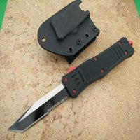 Wholesale self defense knives for sale for sale - Group buy Hot sale Mi Red Devils A161 HRC Hunting Folding Pocket Knife Survival Knife Xmas gift for men copies D2 freeshipping