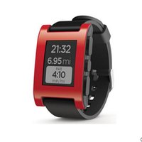 Wholesale Atm Waterproof Watch - Pebble E-Paper Smartwatch for iPhone and Android Multi-Functions Pebble Sports Watch 5-ATM Waterproof Smart Watch