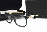 считывающие линзы для пк оптовых-Италия роскошный дизайнер моды Перл sunglassess для женщин чтение радиационной защиты кадров очки прозрачные линзы очки