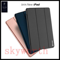 Wholesale S3 Flip Case Retail - Magnetic Flip Folio Case Smart Cover For New ipad 10.5 2017 ipad mini air 2 3 4 Galaxy S3 T820 Retail Package