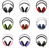 Wholesale Siberia Gaming Headphones - Steel Series Siberia v2 Full-Size Gaming Headset Wired Head-mounted 3.5 MM Stereo Headband Headphone