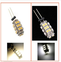 Wholesale G4 SMD SMD Warm Cool White LED Lamp Home Marine Car Boat Light Bulb V