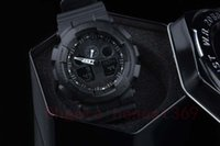 Wholesale Nude Swimming - New Waterproof swimming Men G Sports Shocking Watches All Function Work Led Wristwatch GA100 Watch with Origianl box dropship