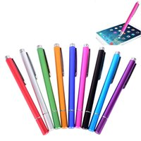Wholesale Fine Apple - Professional Fine Point Capacitive Touch Stylus Pen Replacement Tips for Apple iPad Nexus 7 Galaxy Tablets Kindle Fire HDX