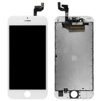 Wholesale Iphone Screen Replacement Colors - 2 Colors Test Before Ship Out iphone Screen Replacement No Flash Point LCD Touch Screen For iPhone 6S 6SP Digitizer Full Assembly LCD-3