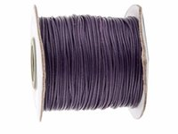Wholesale bracelet accessories korea - 0 mm DK Purple Korea Polyester Wax Cord Waxed Cord Thread DIY Jewelry Bracelet Necklace Wire String Accessories yards roll