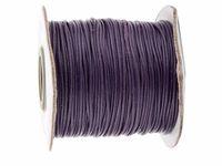 Wholesale Dk Rolls - 0.5mm DK Purple Korea Polyester Wax Cord Waxed Cord Thread+DIY Jewelry Bracelet Necklace Wire String Accessories 200yards roll