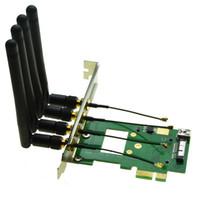 BCM94360CD//BCM94331CD WIFI WLAN module to PCI-e 1x 16x Desktop PC WIFI adapter