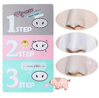 Wholesale pig nose for sale - Group buy Holika Pig Nose Clear Black Head Perfect Sticker steps Clear Black Head Mask Blackhead Remover OOA2146