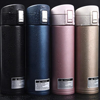 Wholesale Thermos Coffee Cup Mug - Thermos CupThermo Mug Vacuum Cup Stainless Steel Bottle Thermal Bottle Insulated Travel Thermocup Coffee Mugs