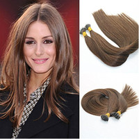 Unprocessed Micro Nano Rings Cabelo humano Double Drawn Anel Nano Natural Remy Hair Extensions Silky Straight 1g / str 100g / Lot