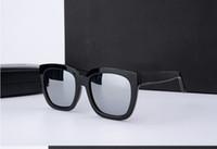 Wholesale Bigbang Logo - V Logo Korea Bigbang Square Frame GM Dreamer Glasses Vintage Handmade Men WomenThe Luxury Brand Design Gentle Sunglasses